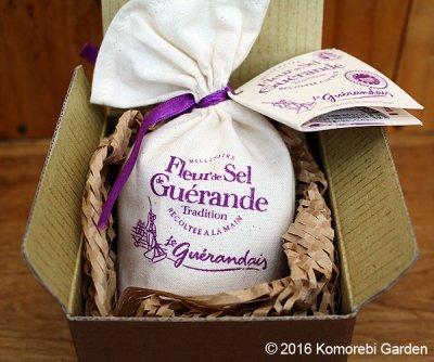 画像1: ゲランドで最も希少な塩 塩の花 一番塩(フルール・ド・セル)125g 箱入り