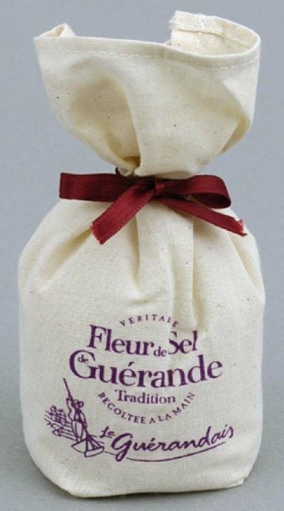 画像2: ゲランドで最も希少な塩 塩の花 一番塩(フルール・ド・セル)125g 箱入り
